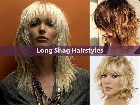 how to blowdry shaggy hairstyles how to blow dry a shag hairstyle 20 elegant long shag