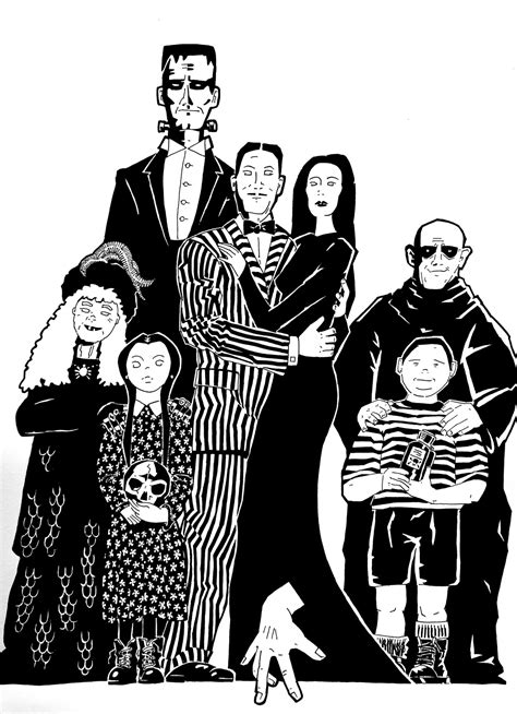 the addams family by stefanbehringer on deviantart