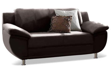 2er Sofa Leder by Leder 2er Sofa Rondo Braun Sofas Zum Halben Preis