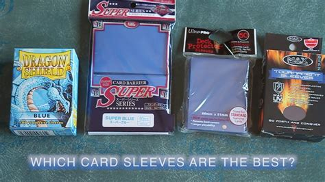 how to make card sleeves what are the best card sleeves for magic the gathering