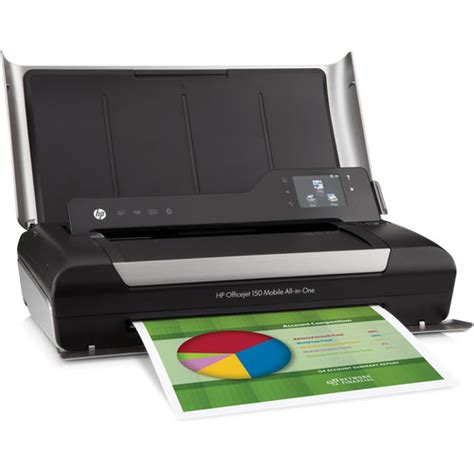 Printer Hp Officejet 150 Mobile All In One Hp Officejet 150 Mobile Color All In One Inkjet Cn550a B1h B H