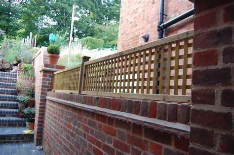 Top Trellis Lattice Trellis Fixed On Brick Wall