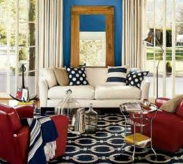 red white and blue home decor coastal home inspirations on the horizon rooms with