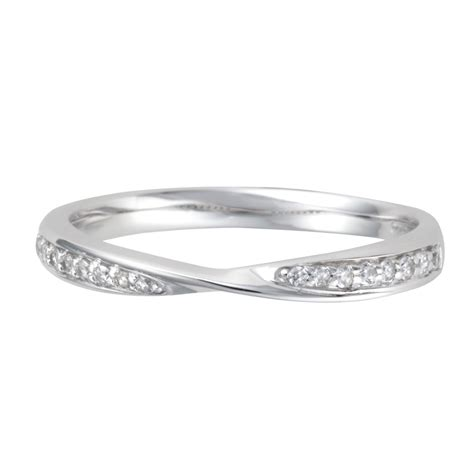 platinum twist diamond wedding ring from berry s jewellers