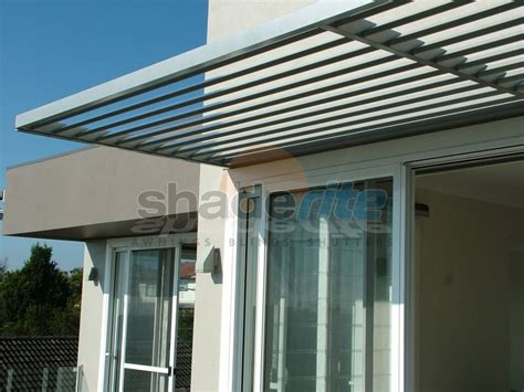 Aluminium Shade Awnings aluminium louvres awnings and canopies sydney