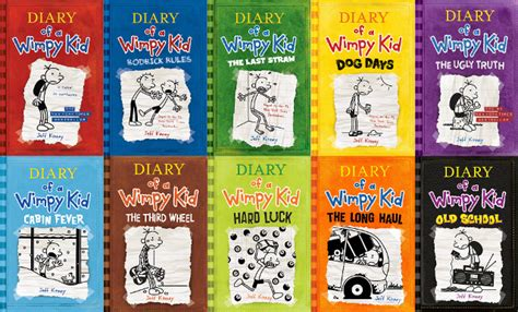 pictures of jeff kinney books with jeff kinney author of diary of a wimpy kid