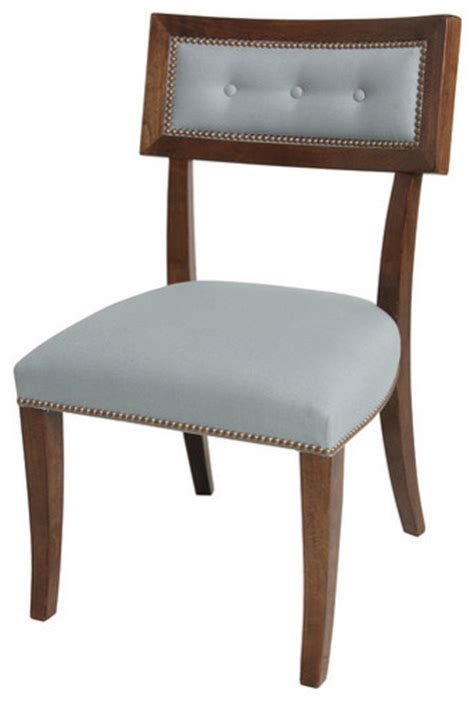 Curved Back Dining Chairs Dining Chair Curved Back Traditional Dining Chairs Other Metro By Dillard Design