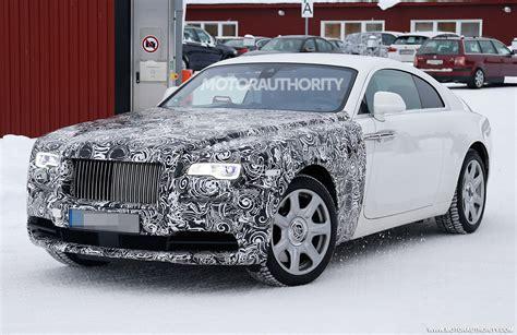 2018 Rolls Royce Wraith Series II spy shots