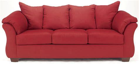 darcy full sofa sleeper ashley darcy salsa sleeper sofa 7500136 couch