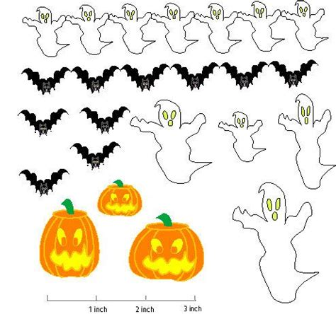printable halloween decorations 17 best images about dollhouse printables on pinterest