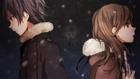 gambar anime pasangan kekasih romantis
