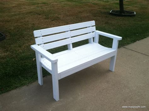 pvc benches commercial outdoor benches max play fit llcmax play fit