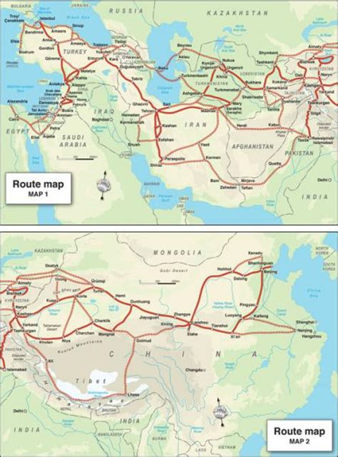 middle east road map trailblazer guide books
