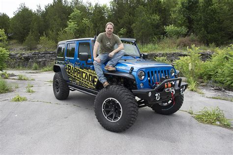 Today Show Jeep Giveaways - extreme terrain and barricade off road unveil their project trail force jeep
