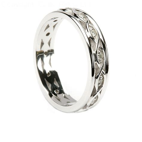 Silver Wedding Bands by Sterling Silver Celtic Wedding Bands Matvuk