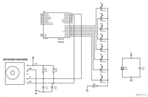 interfacing rotary encoder with avr microcontroller atmega8