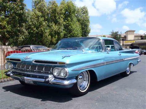 1959 chevrolet for sale 1959 chevrolet impala for sale classiccars cc 985013