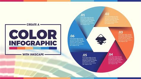 Inkscape Tutorial Colorful Infographic Template Youtube Interactive Infographics Templates