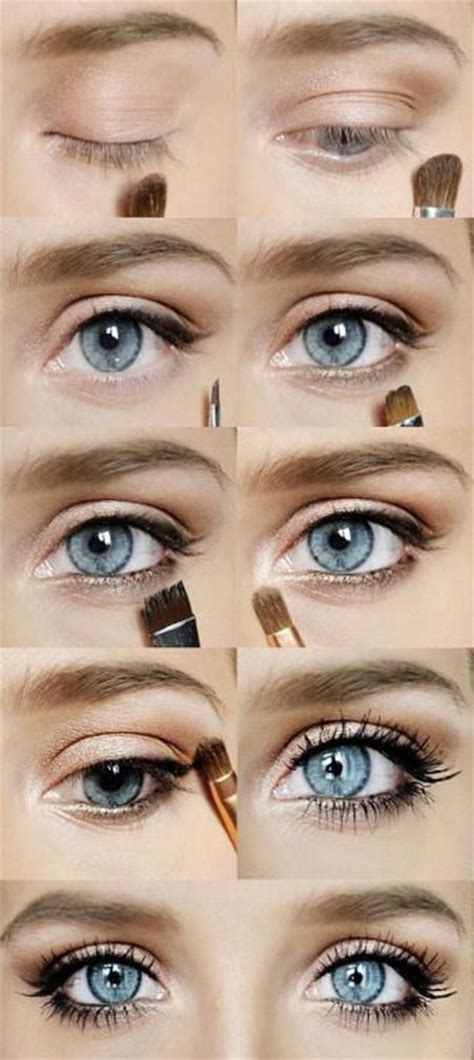 eyeliner tutorial natural look 12 easy step by step natural eye make up tutorials for