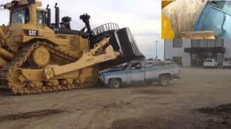 Cat D For Sale Caterpillar D11t Bulldozer Car Crush