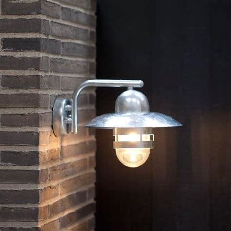 nordlux nibe e27 outdoor wall light galvanised