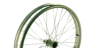 Roda Pu Jari 4 Mati sparepart ban roda kursi roda velg jari jari toko medis jual alat kesehatan
