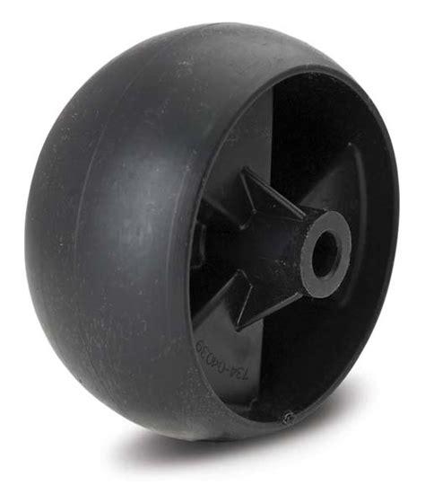 cub cadet mower deck wheels deck wheel for cub cadet 734 04039