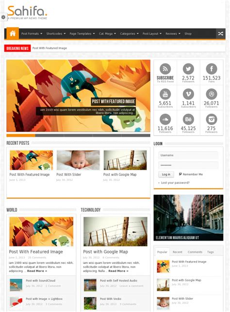 sahifa theme for wordpress sahifa responsive wordpress theme onlinebdshopping com