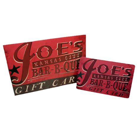 Kansas City Gift Cards - joe s kansas city bar b que gift card for restaurant use only the kansas city bbq store