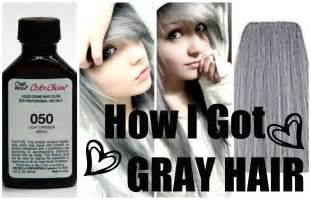 how to color your hair grey wella 050 gray hair dye