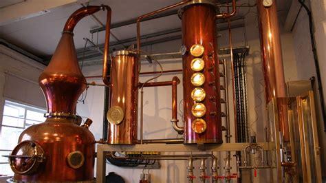 Handmade Copper Still - gin distillery brings the spirit back to