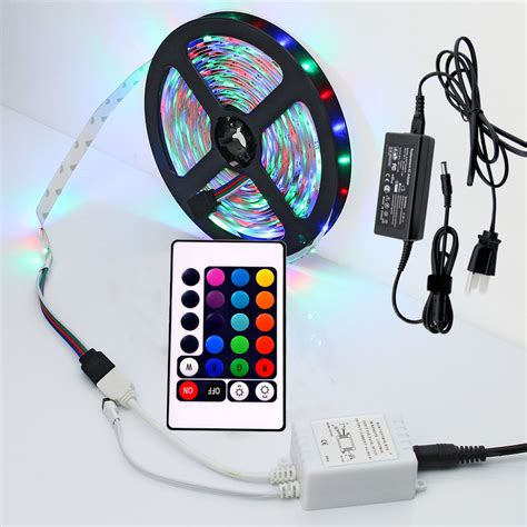 12led 7 Colorful Remote Ambient Foot Well Lighting Car Interio 5m 300led multi color rgb light ribbon remote 12v uk ebay