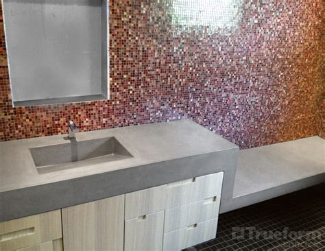 floating shower bench sink and floating shower bench trueform decor