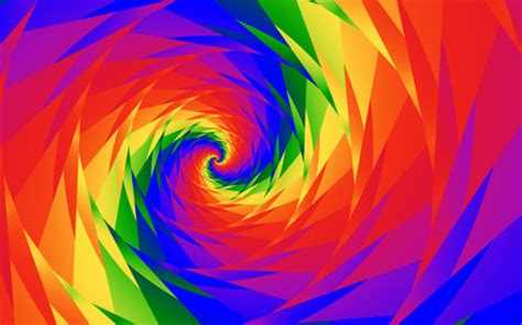 wallpaper vortex anime scenery rainbow vortex 3d and cg abstract background