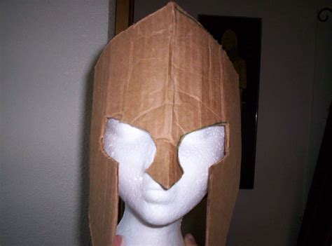 How To Make A Spartan Helmet Out Of Paper - how to make spartan armor from cardboard helmets