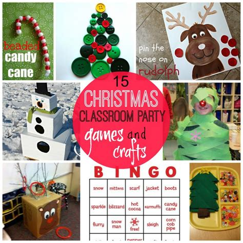 kindergarten christmas party crafts for classroom a and a glue gun