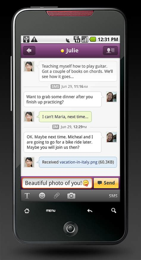 yahoo messenger free for android phone yahoo launches android apps html 5 pages for iphone