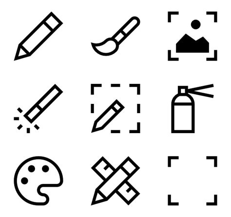 doodle draw icon pack pencil icons 2 050 free vector icons