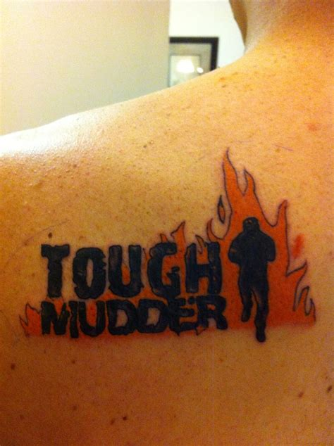 tough mudder tattoo my hubby s tough mudder fitness