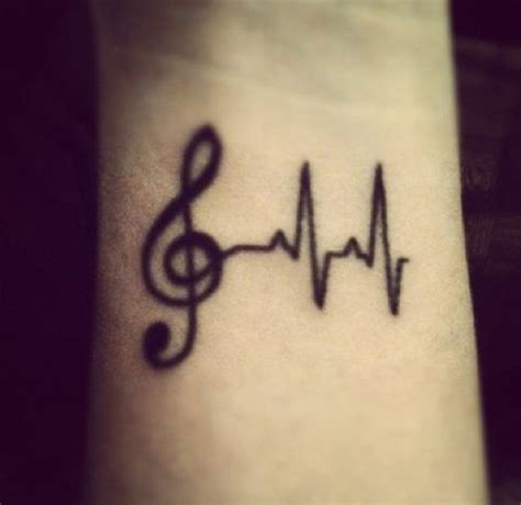 small music note tattoos 50 small tattoos notes ideas and search