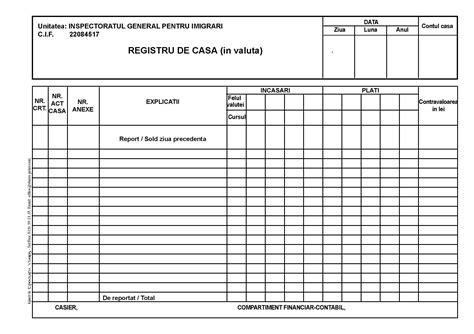 valuta casa registru de casa in valuta autocopiativ tipografia
