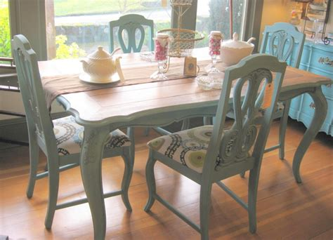 painted dining room tables provence at south end