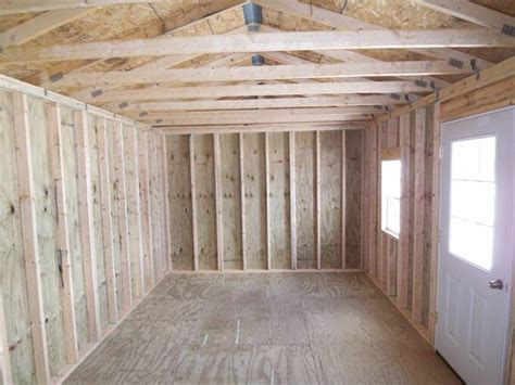 Barn Plans With Loft Apartment 12 X 20 Garden Shed Pics Page