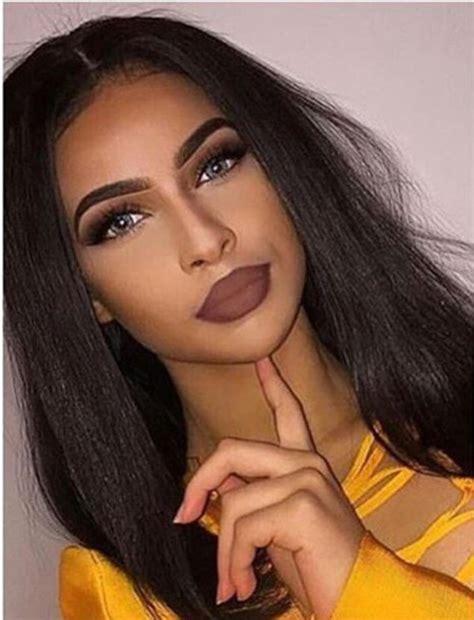 Lipstik Brown make up brown brown lipstick