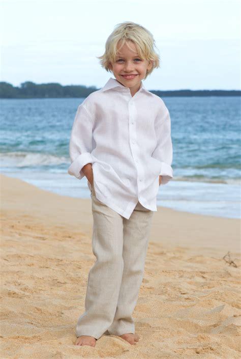 Wedding Attire For Baby Boy by Boys Wedding Attire Baby Boy Linen Suit Ring Bearer