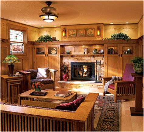 Arts And Crafts Style Living Room by Key Interiors By Shinay Arts And Crafts Living Room