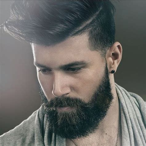best hair cuts to go with beards 2016 men s best haircuts for beards men s hairstyles and