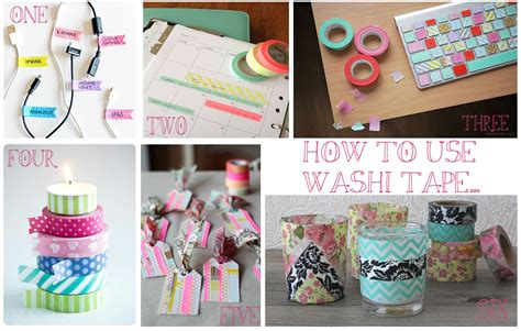 uses for washi tape moonko how to use washi tape