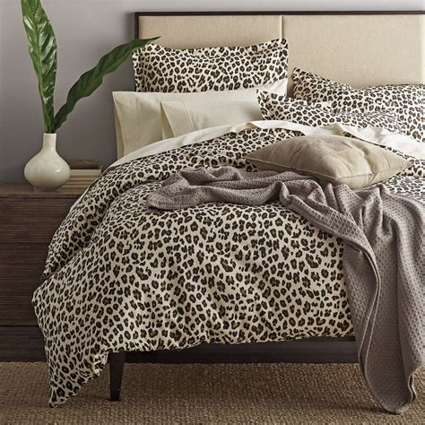 leopard bedding leopard print sheets bedding set the company store