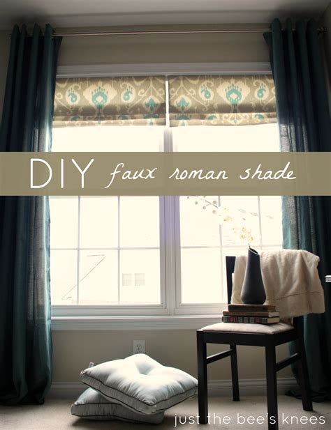 faux tiffany l shades remodelaholic how to create a faux roman shade